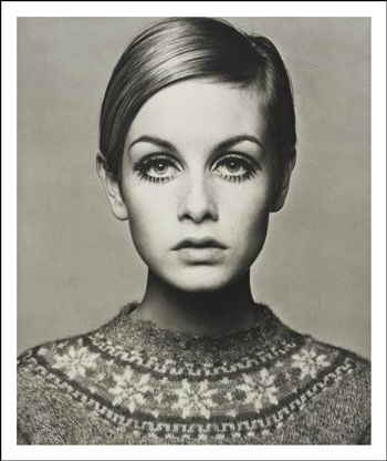 Twiggy ©  Barry Lategan - The Platinum Printroom Print