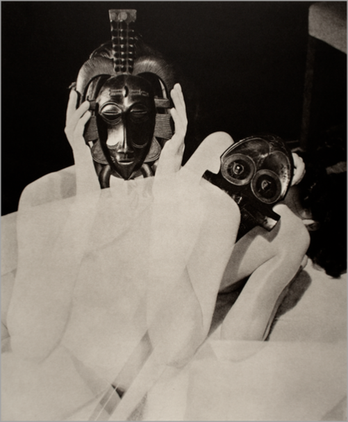 © 31-Studio/Permaprint - Curtis Moffat - 2 Nudes with Mask - 31-Studio Platinum Print