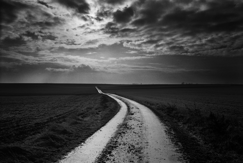 © Don McCullin - Road to the Battlefields, Somme - 31-Studio Platinum Print