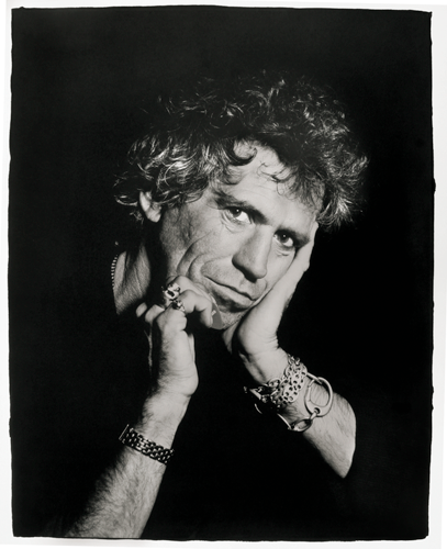 © Eugene Adabari - Keith Richards - 31-Studio Platinum Print