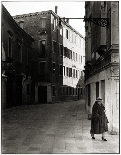 © Fred Chance - Woman in Venice - 31-Studio Platinum Print