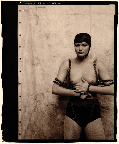 © Peter Lavery - Strong Woman- 31-Studio Platinum Print