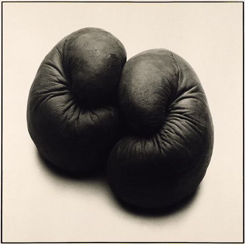 © Philip West - Boxing Gloves - 31-Studio Platinum Print